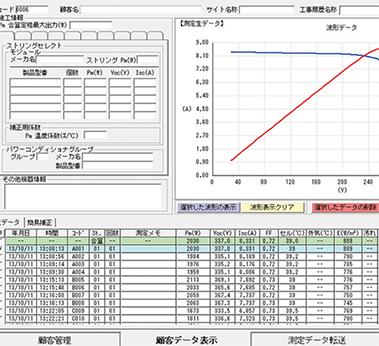 IV カーブ測定(継続測定)